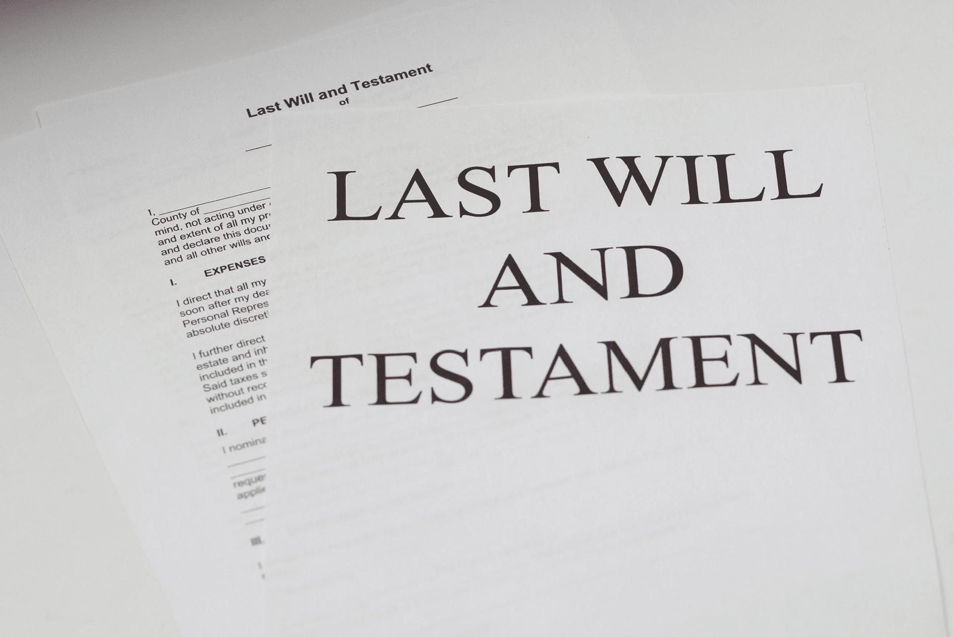 valid wills